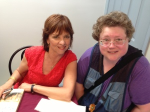 Picture Taken on July 13, 2-14 at Nora Roberts' book signing at Boonsboro, MD