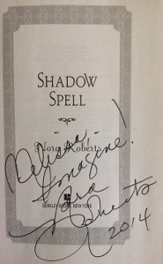 Shadow Spell Signature Page