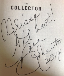 Signature page The Collector