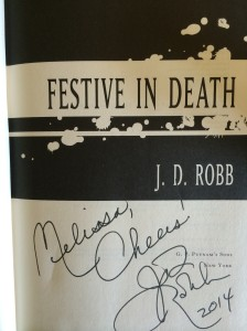 Festive In Death, JD Robb, Murder Mysteries, Women Dectives, New York