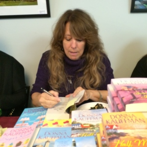 http://donnakauffman.com/ I've read Donna's books for many years good to meet her in person