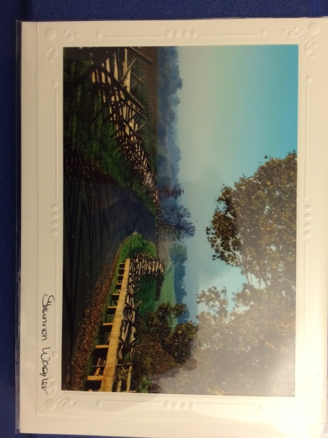 https://www.facebook.com/giftsinnboonsboro lovely picture card of Antietam Battle ground road