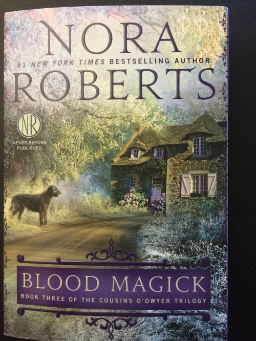 "https://ttpbooks.com/ ""Blood Magick"" Nora Roberts signed my copy:)"