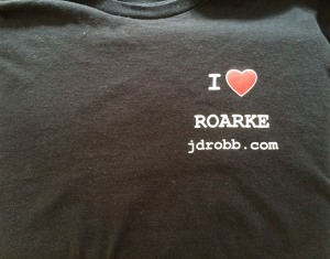 JDRobb T shirt Front