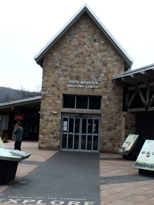 South Mountain Welcome Center close to Hagerstown, MD